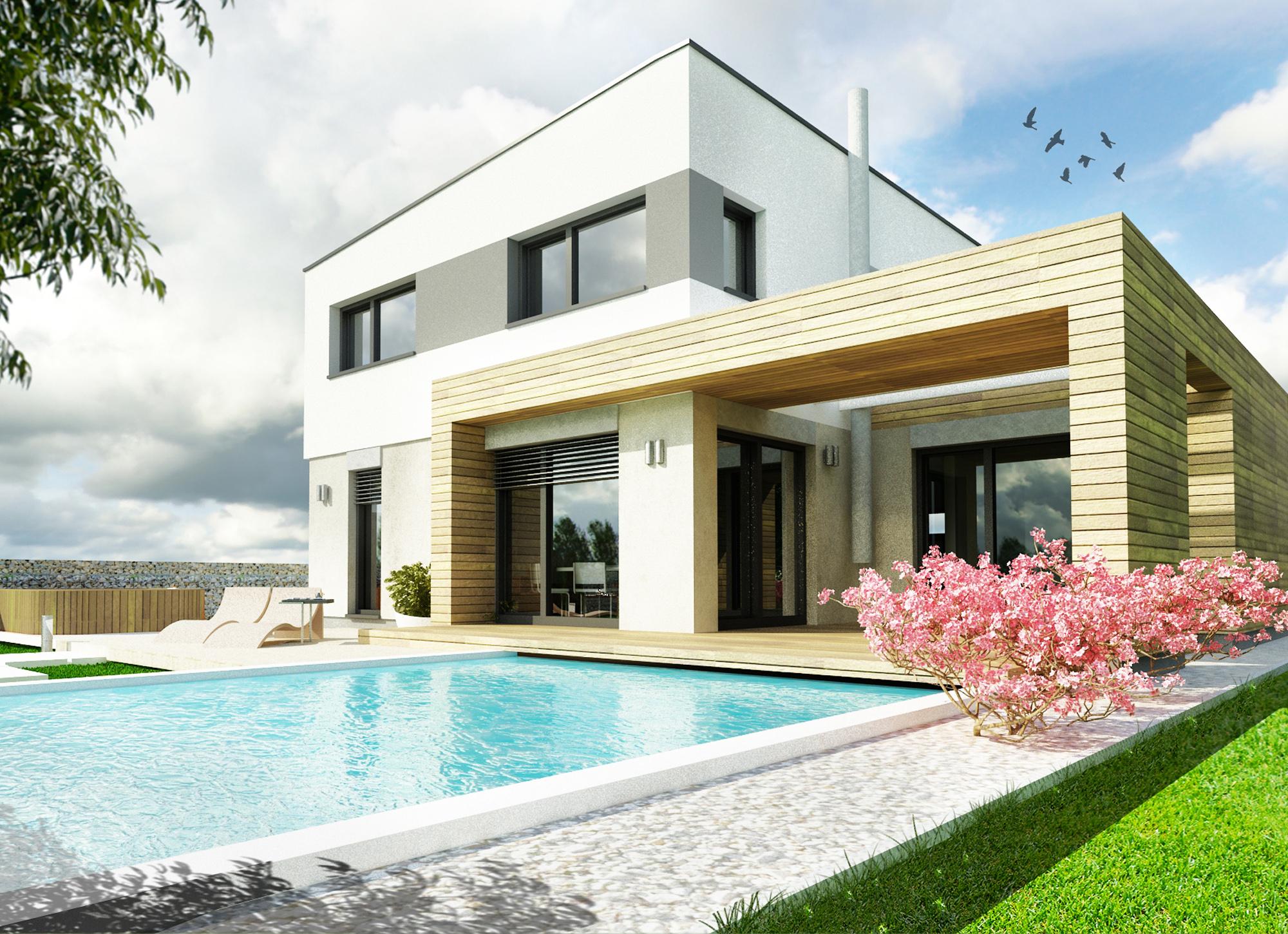 Montovaný dom - Komfort