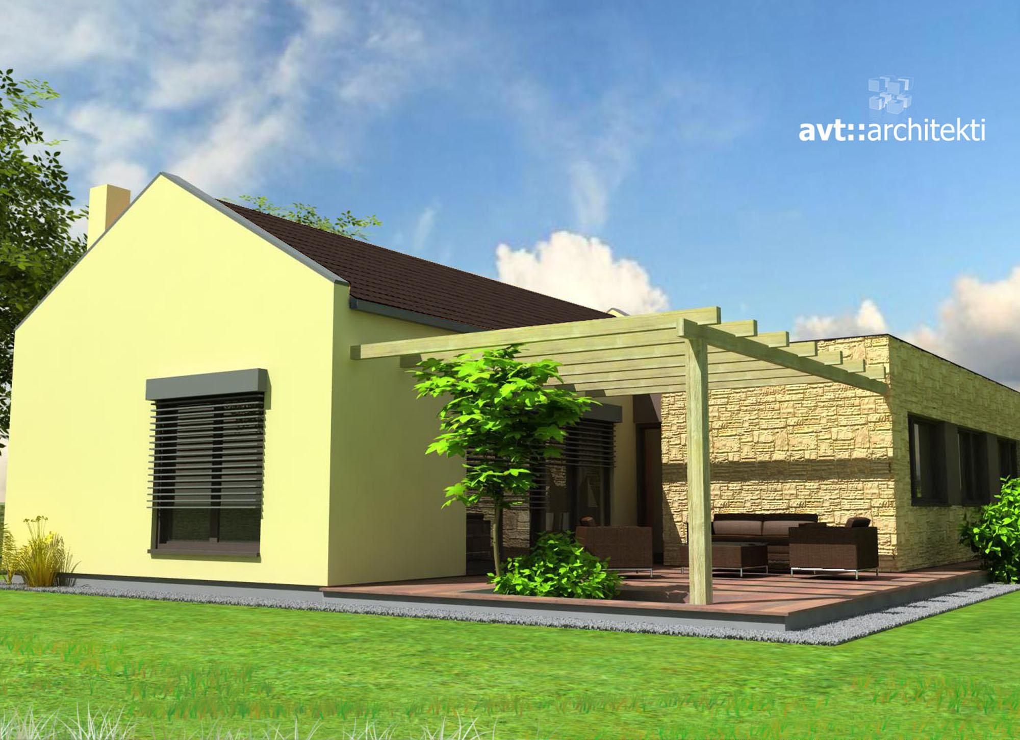 Montovaný dom - Domov