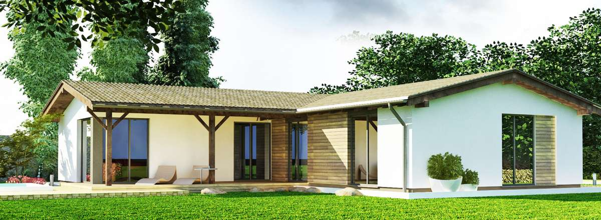 Nízkoenergetický montovaný dom Praktik